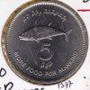 @Y@  Maldiven 1977  5 Rupee     (1377)  Unc    Fao - Maldives