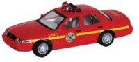 Modelpower 19407, Ford Crown Victoria 2009 Fire Chief, 1:87 - Véhicules Routiers