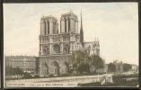 - CPA 75 - Paris, Notre-Dame Par Le Bon Marché - Notre Dame De Paris