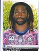 Rugby 2012 Paul SACKEY N°267 - Edition Française