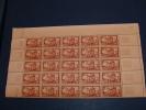 N° 839 En Demi Feuille De 25  Timbres Neuf** - Full Sheets