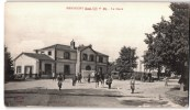 MESGRIGNY LA GARE ANIMEE SOLDAT CAMION MILITAIRE 10 AUBE - Frankrijk