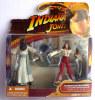FIGURINE - INDIANA JONES - RAIDERS OF THE LOST ARK - HASBRO 2008 - MARION RAVENWOOD & CAIRO HENCHMAN - Figurines