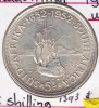 @Y@  Zuid Afrika  5 Shilling  1952  Unc    (1393)  Sailing Ship - Afrique Du Sud