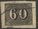 # Brazil   24, XF, Jumbo, Used,  (br024-2, 16-C - Used Stamps
