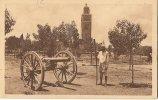 CPA-1930-MAROC-MARRAKECH- JARDIN  KOUTOUBIA Et CANON Du RAMADAN-TBE - Marrakesh