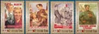 Russia 2000 - 55th Anniversary Victory WWII WW2 Great Patriotic War Military History Militaria Stamps MNH Michel 806-809 - 2. Weltkrieg