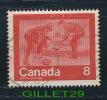 CANADA STAMP - KEEP FIT, WINTER SPORTS  - CURLING - SCOTT No 647, 0,08ç, 1974 - USED - - 1952-.... Règne D'Elizabeth II