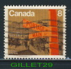 CANADA STAMP - WINNIPEG CENTENNIAL - PORTAGE AND MAIN - SCOTT No 633, 0,08ç, 1974 - USED - - 1952-.... Règne D'Elizabeth II