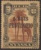 Nyassa 1910 Scott# 49 Mint Hinged Heavy Gum Toning - Mozambique