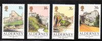 Alderney 1986 Forts MNH - Alderney