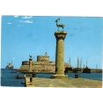 ZS27934 Boats Bateaux In Rhodes Used Perfect Shape Back Scan At Request - Commerce