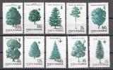 Rumänien; 1994; Michel 4982/91 **; Bäume - 1948-.... Republiken