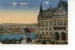 Budapest Orszaghaz Andrassy Szobraval, Parlament Mit Monument Andrassy - Hongrie