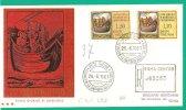ITALIA, 1961, FDC S. PAOLO A ROMA - 6. 1946-.. Repubblica