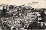 Luxembourg - Ville Haute Et Ville Basse Du Grund (superbe Carte Système) - Luxembourg - Ville
