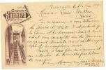 SUISSE Entier Postal Avec Publicité Chocolat Suchard De Neuveville à Cluses Illustration Funiculaire - Alimentation