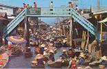 Floating Market And Wooden Bridge, Rajburi Province Thaïland - Thaïlande