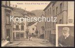 ALTE POSTKARTE VIANDEN DEMEURE DE VICTOR HUGO 1870-1871 Café Luxemburg Luxembourg Cpa Postcard Ansichtskarte AK - Vianden