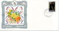 Dominica 1986 Royal Wedding Prince Andrew & Sarah Sc 970 Fargusan Flower Orchid Plant FDC - Royalties, Royals