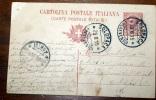 ITALIA  1915 -  CARTOLINA POSTALE ITALIANA CENT 10 - 1900-44 Vittorio Emanuele III