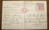 ITALIA  1918 -  CARTOLINA POSTALE ITALIANA CENT 10 - 1900-44 Vittorio Emanuele III