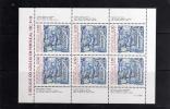 PORTOGALLO - PORTUGAL 1983 5 SECOLI DI MAIOLICHE - AZULEJO - MAJOLICAS MINIFOGLIO MNH - Blocks & Kleinbögen