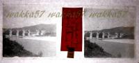 $3B12- WWI - Ponte Di Lucinico Gorizia Il Podgora Settembre 1016 - Vera Diapositiva Stereo In Vetro - Diapositiva Su Vetro