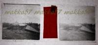 $3B14- WWI - Aeroplano Austriaco Abbattuto Presso Perteole Ruda Udine Aprile 1916 - Vera Diapositiva Stereo In Vetro - Diapositiva Su Vetro