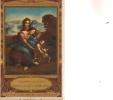 R / 12 / 3 / 37     - Carte Pub. Chocolaterie D´Aiguebelle  -Tableau L. De VINCI - Publicidad