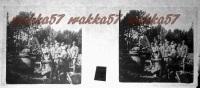 $3C3- WWI - Mitragliatrice In Postazione Contro Aerei Nella Pineta Di Quota 951 Monfalcone Febbraio 1916 - Diapositiva Su Vetro