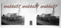 $3C4- WWI - Il Tempio Storico Di Aquileia - Vera Diapositiva Stero In Vetro - Diapositiva Su Vetro