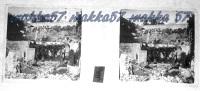 $3C5- WWI - Le Carceri Di Gradisca Viste Dal Bastione - Gorizia - Vera Diapositiva Stero In Vetro - Diapositiva Su Vetro