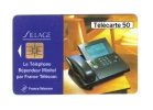 "Carte Télécarte  ""  Sillage  "" - Telephones"