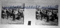 $3C8- WWI - Prigionieri Austriaci Catturati Il Giorno 13 Agosto Concentrati Al Casermone Di Gradisca (Gorizia) - Diapositiva Su Vetro