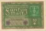 Billete 50 Mark Alemania Reich 1910, - 50 Mark