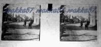$3C10- WWI - La Strada Che Porta A Selz Novembre 1916 (Cave Di Selz - Ronchi Dei Legionari Gorizia)) - Diapositiva Su Vetro