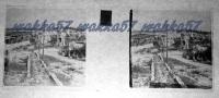$3C12- WWI - Il Paese Di Sagrado Friuli In Parte Distrutto Dalle Artiglierie - Vera Diapositiva Stereo In Vetro - Diapositiva Su Vetro