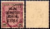 1903 SPÄTVERWENDUNG Des Preußen-K2 HAMBURG Auf Dienstmarke - Preussen