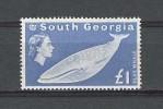GEORGIE DU SUD  1963  N° 165 ** Neuf Ier Choix. LUXE.  Cote 165 € (Faune. Baleine, Whale.  Marine Fauna) - Géorgie Du Sud