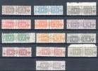 Italia Regno 1914 -22 Pacchi Postali Nodo Di Savoia ** MNH Cert. Caffaz Lusso - Pacchi Postali