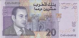 MOROCCO 20 DIRHAMS 2005 PICK 68 UNC - Morocco