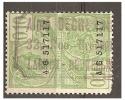 Mj-2292    AIME DEGRE???     /  32 RUE DIEGHEM   /    LAEKEN-BRUXELLES - Revenue Stamps