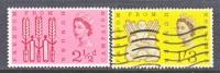 Great Britian 390-1  **   (o)  FAO - 1952-.... (Elizabeth II)