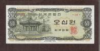 KOREA - SOUTH 50 WON 1969  XF  Circulated Condition - Corée Du Sud