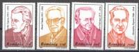 Rumänien; 1996; Michel 5215/8 **; Perönlichkeiten - 1948-.... Republiken