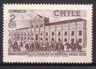 Chile. 1970. Mint Y&T 348. Treasure Chilean House - Chile