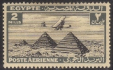 Egypt 1933-38 Air Mail Scott# C6 Used - Sin Clasificación