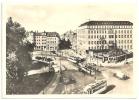 Halle (Saale) Riebeckplatz TOP-Erhaltung Straßenbahn Oldtimer Autos - Halle (Saale)