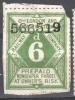 GB-UK Railway Newspaper Stamp. London & North Western6d . Used..Trains/Railways/Eisenbahnmarken - Eisenbahnen